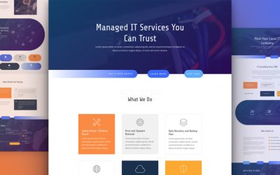 IT Services Layout Pack