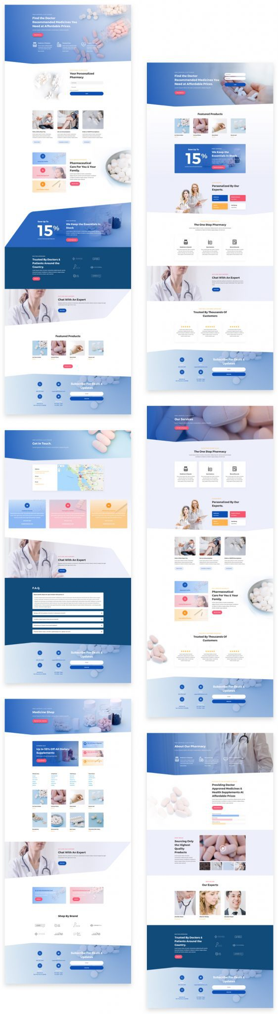 Pharmacy Layout Pack