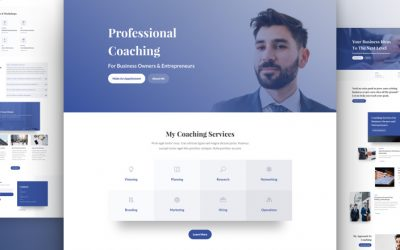 Business Coach Layout Pack
