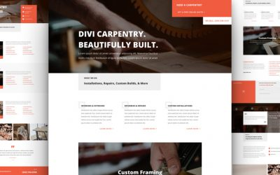 Carpenter Layout Pack