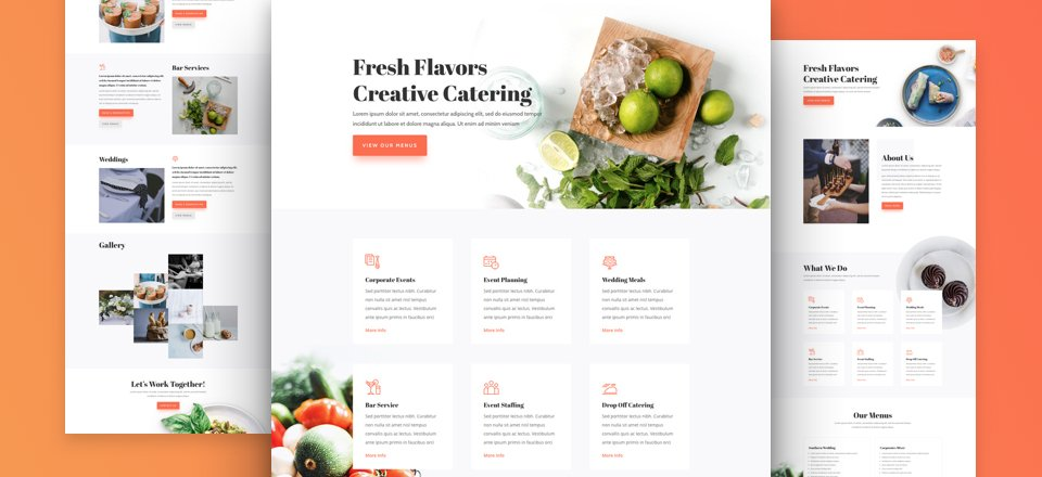 Catering Layout Pack