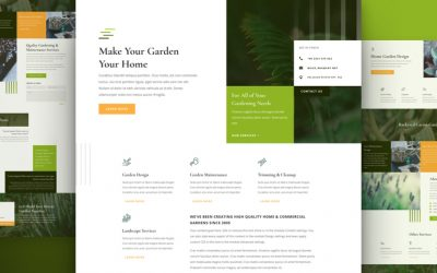 Gardener Layout Pack