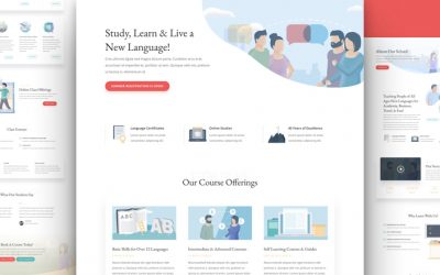 Language School Layout Pack