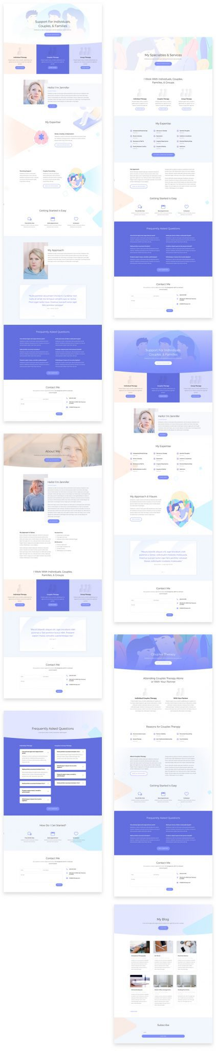 Therapist Layout Pack
