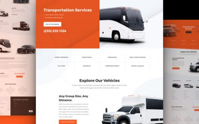 Transportation Services Layout Pack