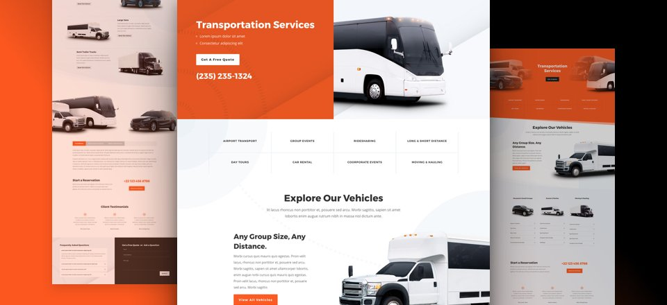 Transportation Layout Pack