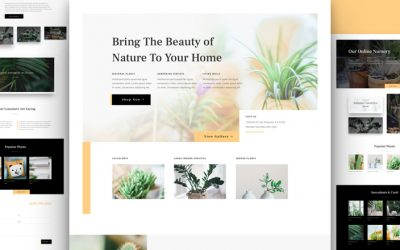 Plant Nursery Layout Pack