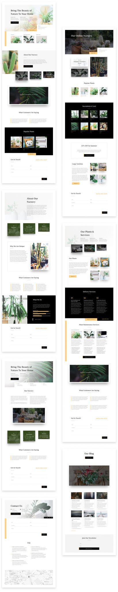 Plant Nursery Layout Pack
