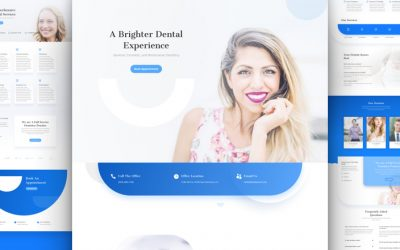 Dentist Layout Pack