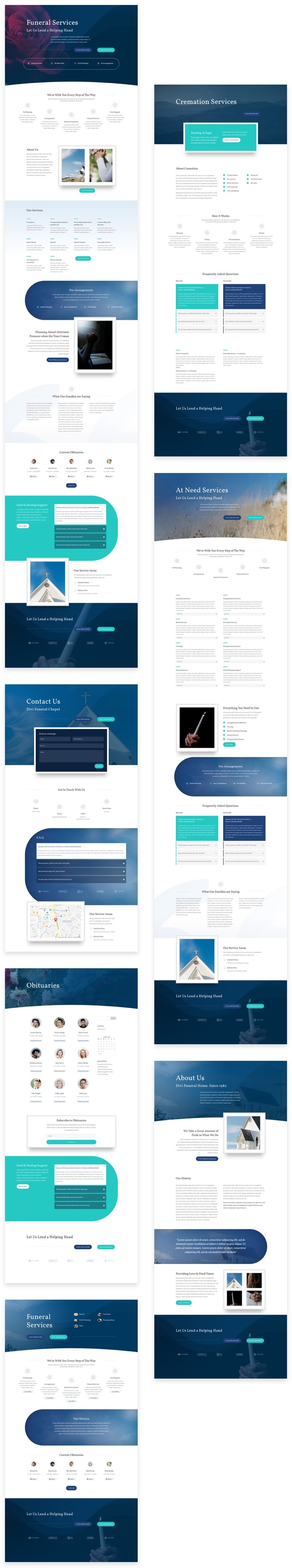 Funeral Home Layout Pack