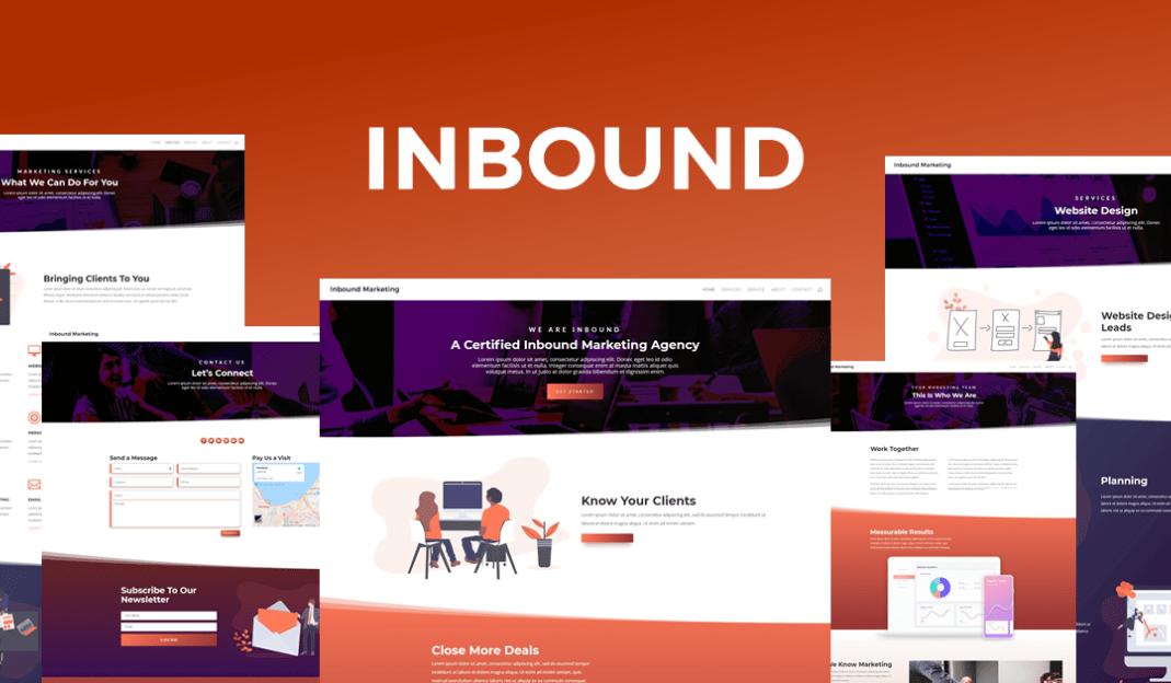 Inbound Marketing Layout Pack for Divi