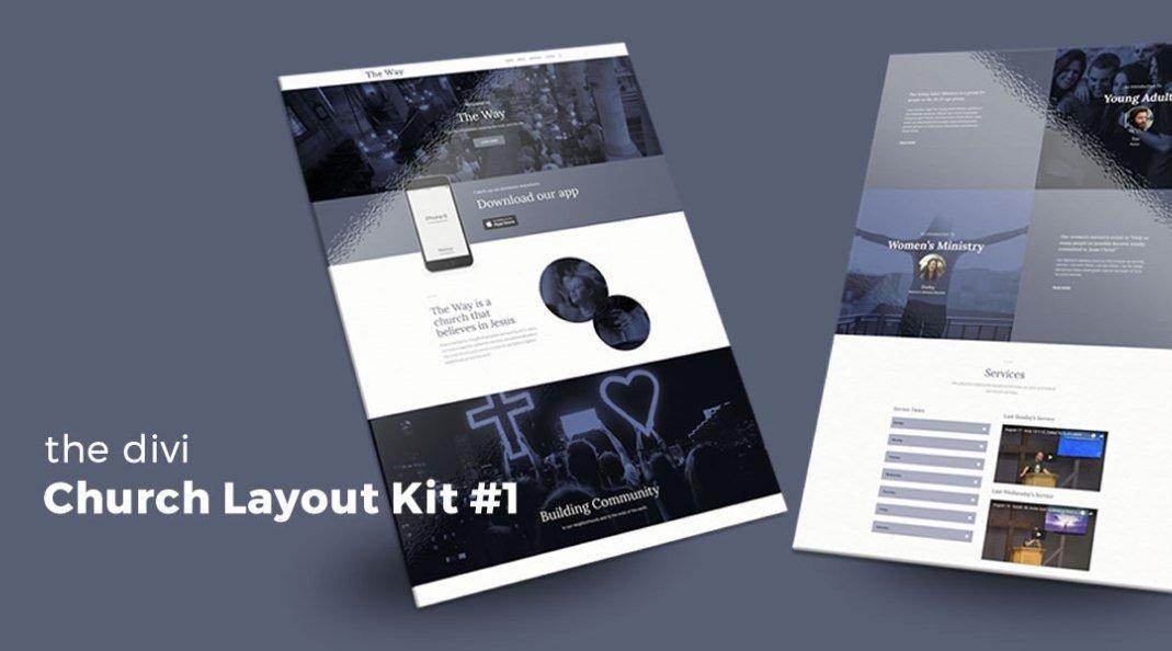 Church Layout Kit for Divi