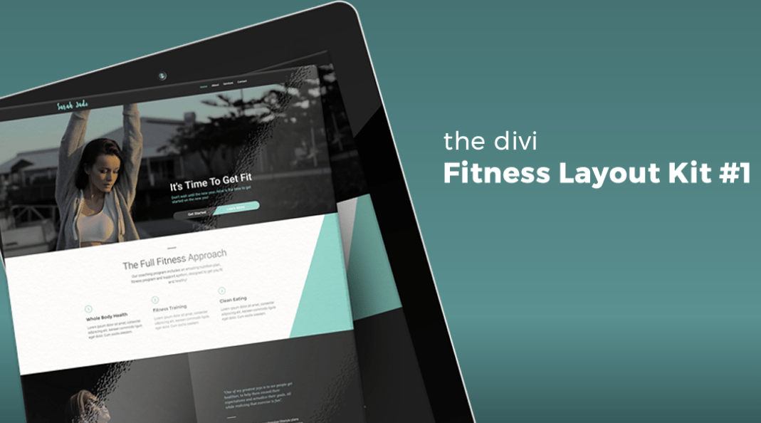 Fitness Layout Kit for Divi