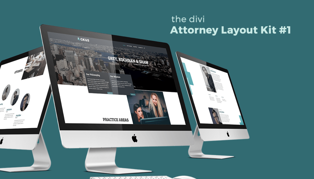 Attorney Layout Kit for Divi