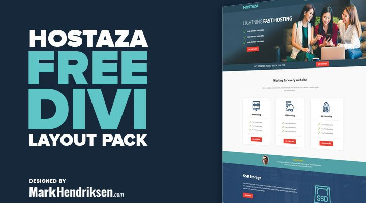 Hostaza Divi Layout Pack
