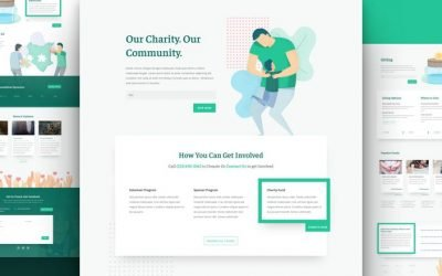 Charity Layout Pack