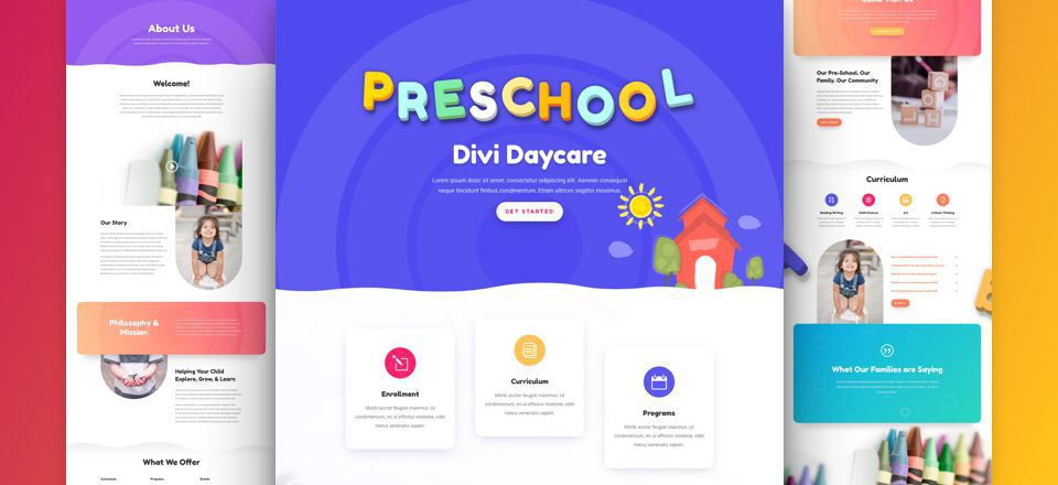 Daycare Layout Pack