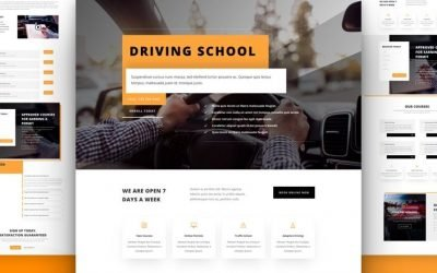 Driving School Layout Pack
