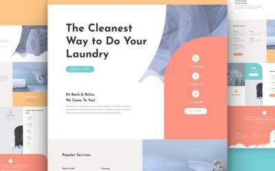 Laundry Service Layout Pack