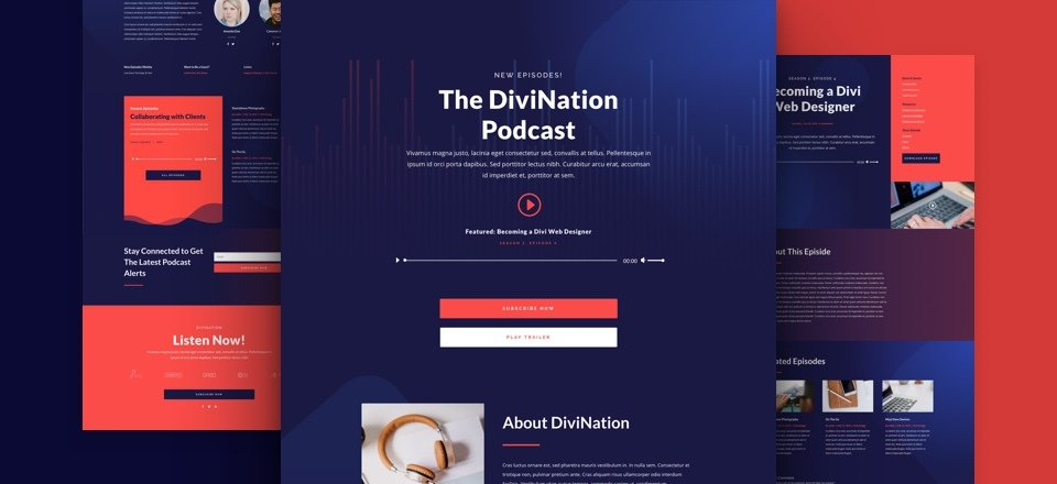 Podcast Layout Pack