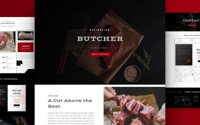 Butcher Layout Pack