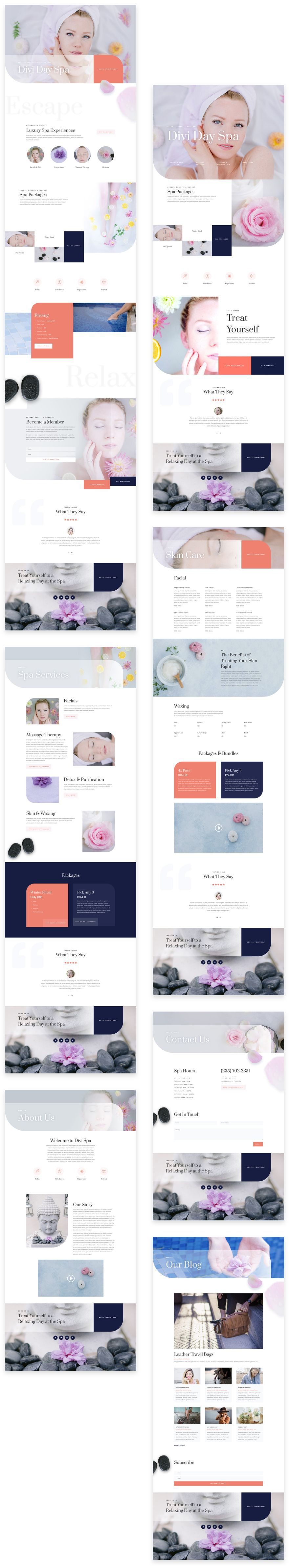 Day Spa Layout Pack