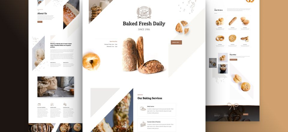 Bakery Divi Layout Pack