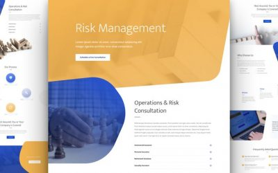Risk Management Layout Pack