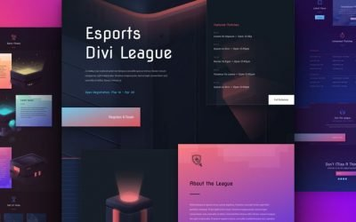 eSports Layout Pack