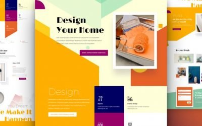 Home Improvement Layout Pack
