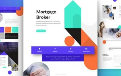 Mortgage Broker Layout Pack