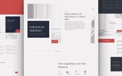 Paralegal Layout Pack
