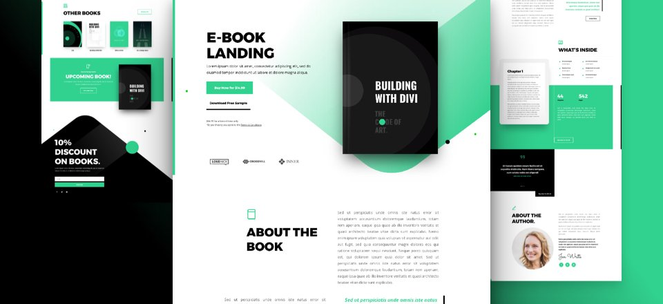 Ebook Divi Layout Pack