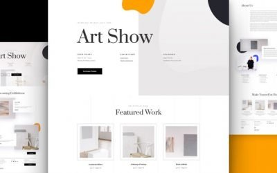 Art Gallery Layout Pack