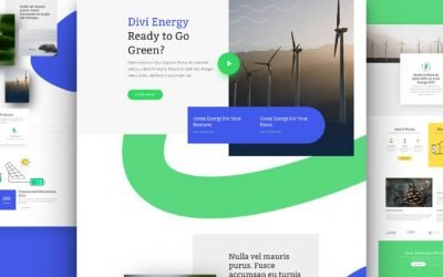 Green Energy Layout Pack