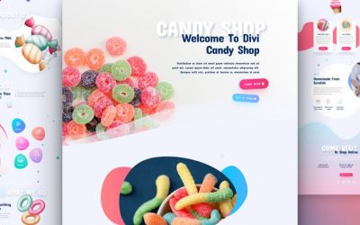Candy Shop Layout Pack
