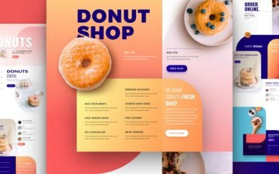 Donut Shop Layout Pack