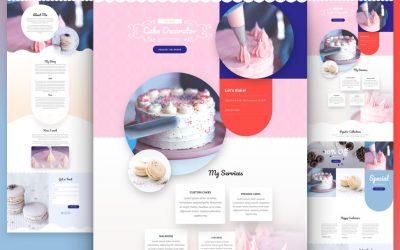Cake Maker Layout Pack