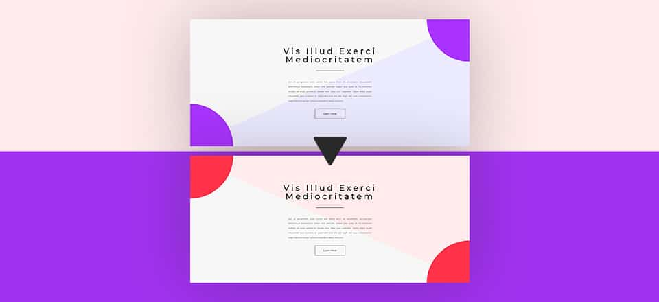 Gradient Background Hover Transitions