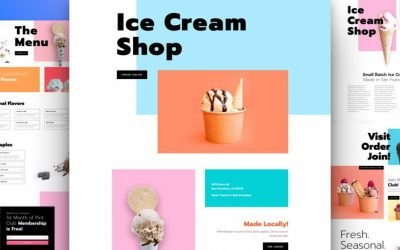 Ice Cream Shop Layout Pack