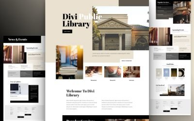 Library Layout Pack