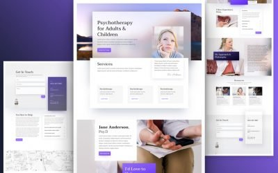 Psychologist Layout Pack