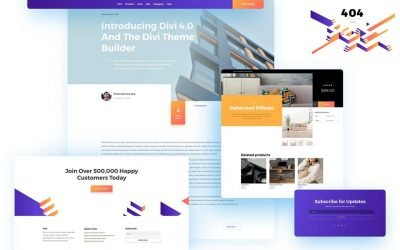 Divi 4.0 Theme Builder Pack 1
