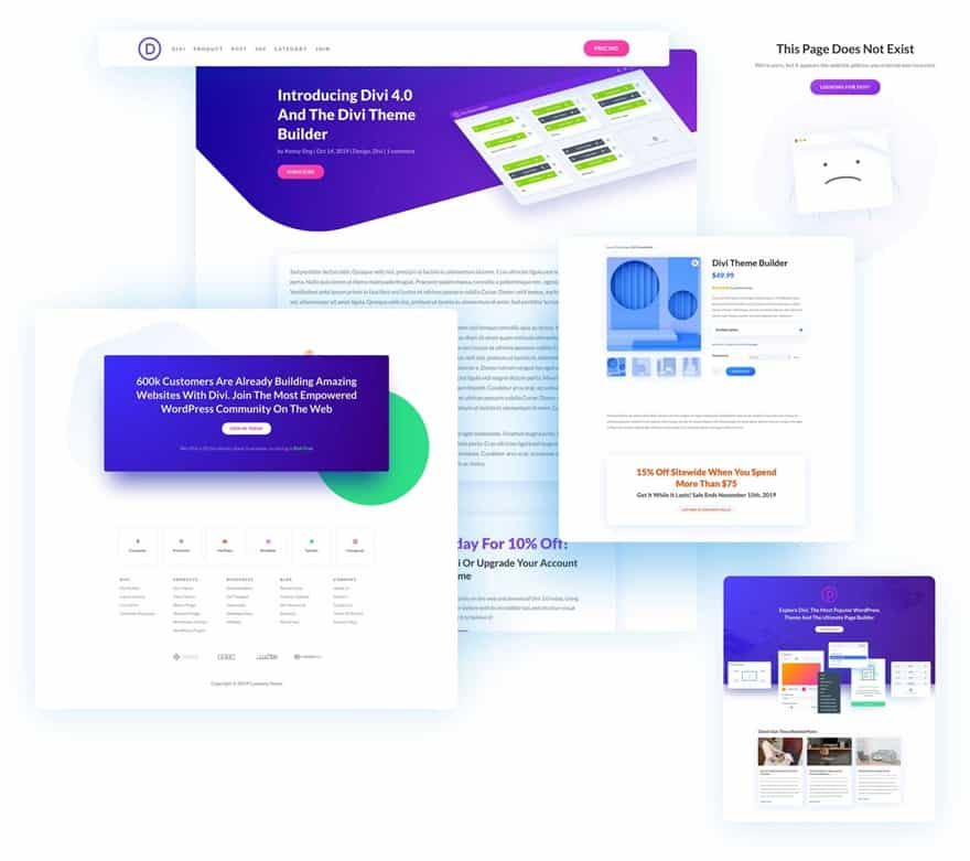 Divi 4.0 Theme Builder Pack 2
