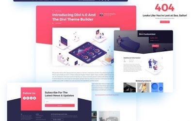 Divi 4.0 Theme Builder Pack 3