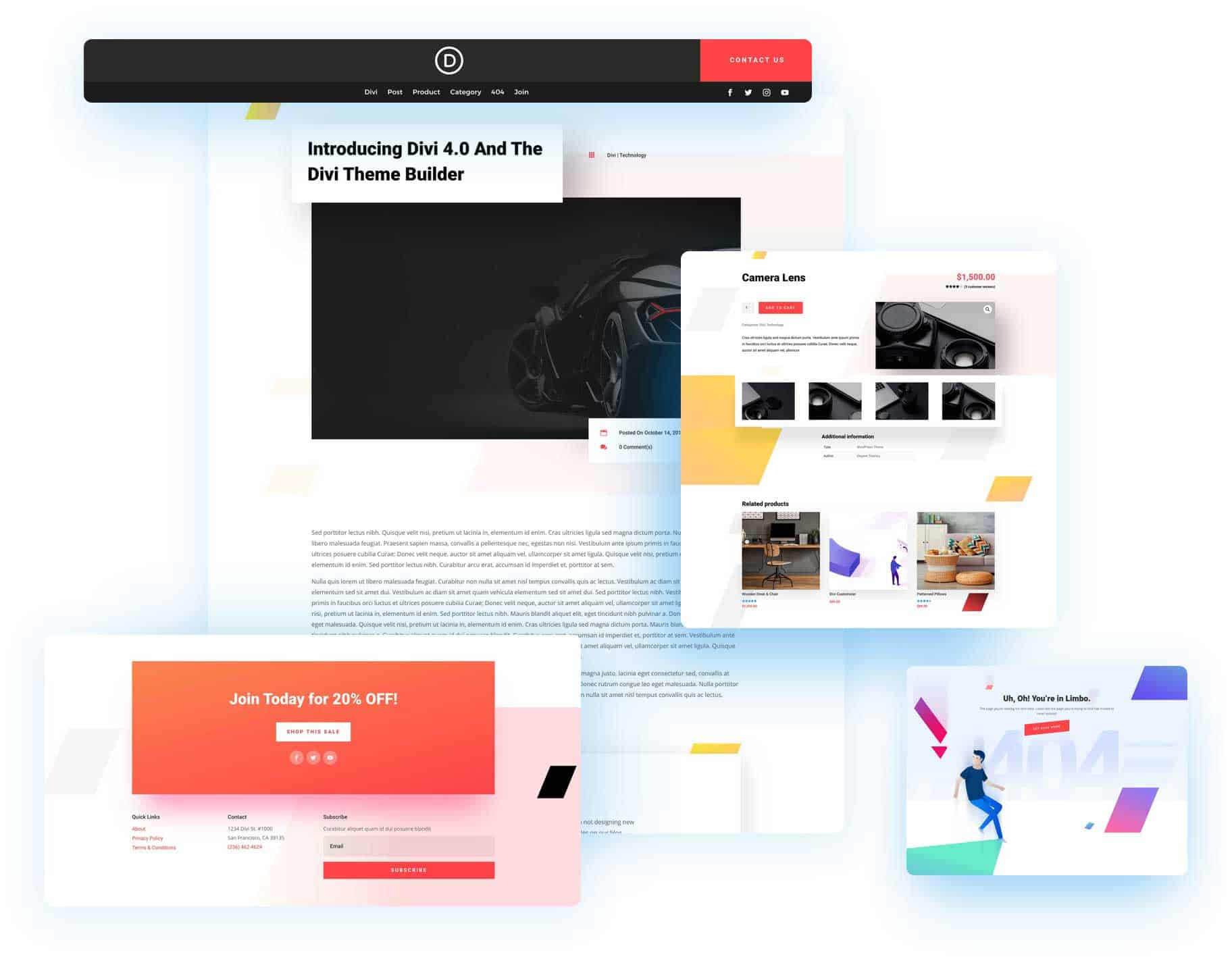 Divi 4.0 Theme Builder Pack 4