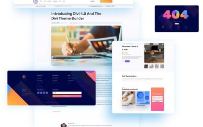 Divi 4.0 Theme Builder Pack 5