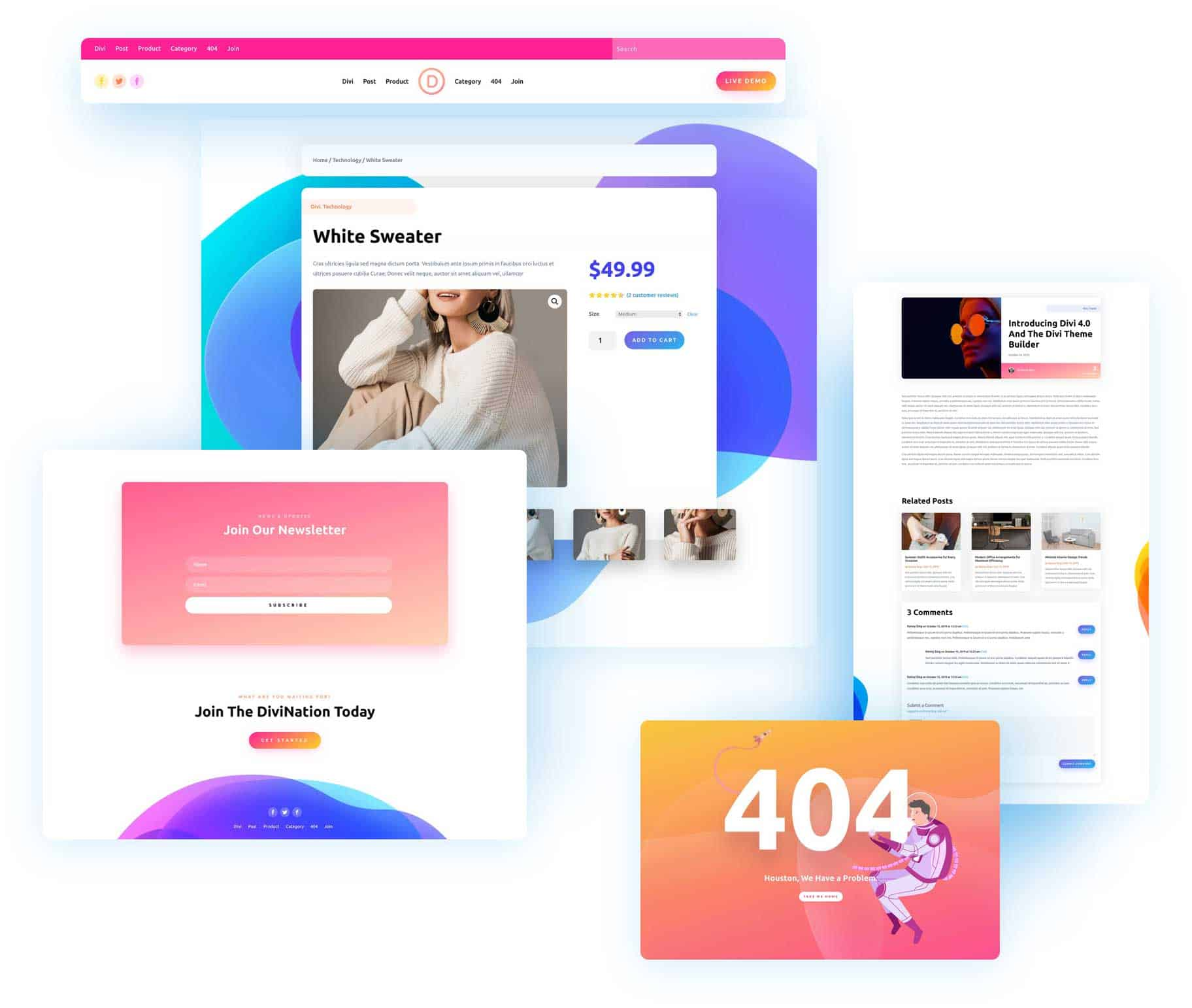 Divi 4.0 Theme Builder Pack 6