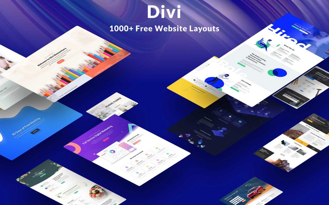 Elegant Themes Divi Layout Packs