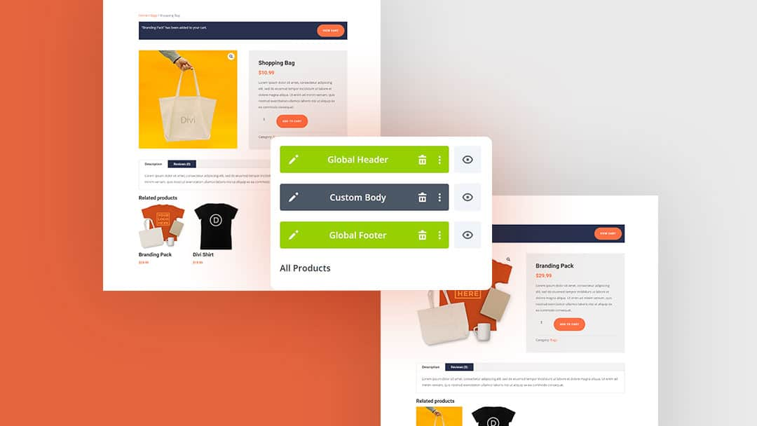 Site-Wide Woo Product Page Template